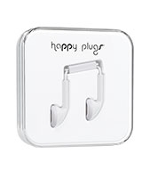 Earbud White - Happy Plugs