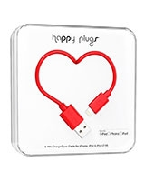 Charge/Sync Cable Red 2m - Happy Plugs