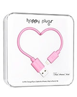 Charge/Sync Cable Pink 2m - Happy Plugs