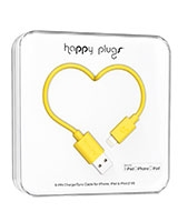 Charge/Sync Cable Yellow 2m - Happy Plugs