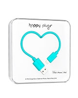 Charge/Sync Cable Turquoise 2m - Happy Plugs