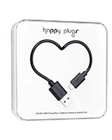 Charge/Sync Micro USB Cable Black 2m - Happy Plugs