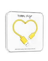 Charge/Sync Micro USB Cable Yellow 2m - Happy Plugs