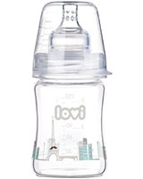 Retro Boy Diamond Glass Bottle 0+ Month 150 ml 74/103 - Lovi