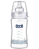 Marine Diamond Glass Bottle 3+ Month 250 ml 74/201 - Lovi
