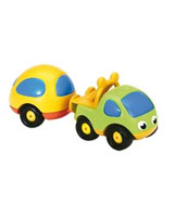 Vroom Planet Pick Up Car With Van - Smoby