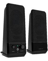 Event Stereo Speaker Black 8004-BK - Speed Link