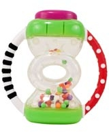Hour Glass Rattle 80271 - Sassy