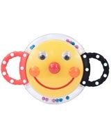 Smiley Face Mirror Rattle 80398 - Sassy