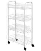 Rolling cart Pisa - Metaltex