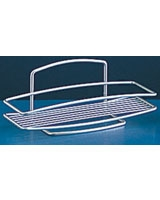 1 Tier Rectangular Shelf Onda - Metaltex