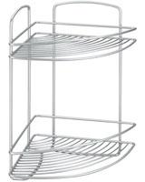 2 Tier Corner Shelf Onda - Metaltex