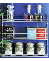 3 Tier Spice Rack Metallic Pepito  - Metaltex