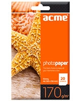 Photo Paper A6 170 g/m2 20pack Glossy - ACME