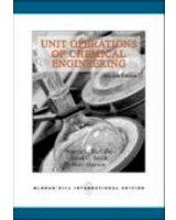 Unit Operations Of Chemical Engineering. Warren L. Mccabe, Julian C. Smith, Peter Harriott