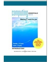 Computing Essentials 2013 Introductory