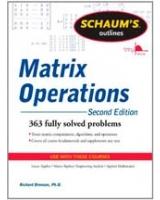 Schaum's Outline of Matrix Operations Schaum's Outline Series