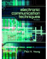 Electronic Communication Techniques 5Th Edition