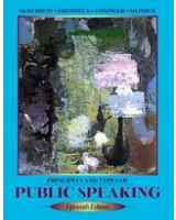 Principles and Types of Public Speaking 15th Edition