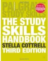 The Study Skills Handbook Palgrave Study Skills