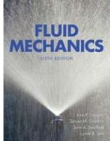 Fluid Mechanics 6Th Edition