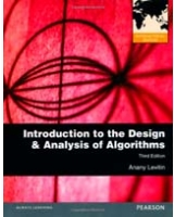 Introduction to the Design & Analysis of Algorithms. By Anany Levitin International Version