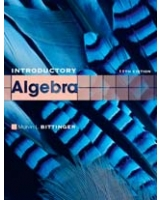 Introductory Algebra 11th Edition The Bittinger Worktext Series