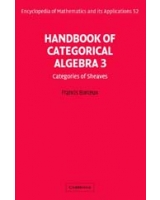 Handbook of Categorical Algebra