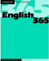 English365 3 Teacher's Book (Cambridge Professional English) [ILLUSTRATED]