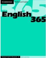 English365 3 Teacher's Book (Cambridge Professional English) [ILLUSTRATED]