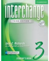 Interchange Student'S Book 3 With Audio Cd Interchange Third Edition