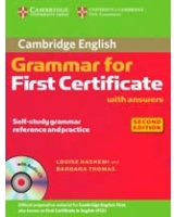 Cambridge Grammar for First Certificate with Answers and Audio CD Cambridge Books for Cambridge Exams