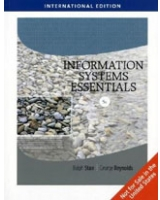 Information Systems Essentials International Edition - With Printed Access Card
