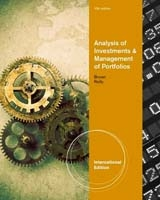 Analysis Of Investments And Management Of Portfolios. Keith C. Brown, Frank K. Reilly