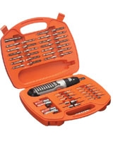 54 Pieces Screwdriver Bits & Alkaline Screwdriver Set - Black & Decker