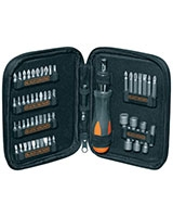 Ratchet Scewdriver Set 56 Pieces A7104-XJ - Black & Decker