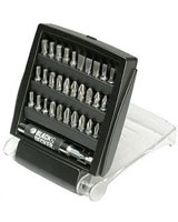 31 Pieces Mixed Screw-driving Bit Set A7122 - Black & Decker