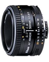 Lens AF Nikkor 50mm f/1.8D - Nikon