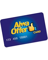 Aiwa Offer Card