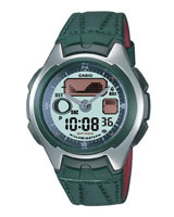 Combination Active Dial Watch AQ-162WB-3E - Casio