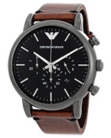Men's Watch Gunmetal AR1919 -  Emporio Armani