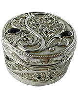 Jewellry Box With Black Stones AS2572-307