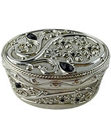Jewellry Box With Black Stones AS2688_308