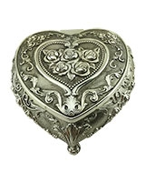 Heart Shaped Jewellry Box