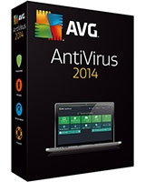 AntiVirus Version 2014 1 Year - 1 User - AVG