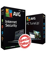 Internet Security Version 2016 & PC tun up  1 Year - 1 User - AVG