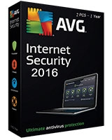 Internet Security Version 2016 1 Year - 2 User - AVG