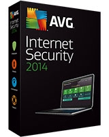 Internet Security Version 2014 1 Year - 1 User - AVG