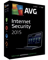 Internet Security Version 2015 1 Year - 3 User - AVG