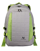 "Laptop Bag 15.6"" Gray Light Green BG234 - L'avvento"